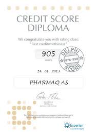 credit score diploma products support pharmaq credit score diploma
