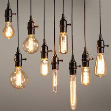 w e lamp holder round edison bulb lamp fixture vintage retro