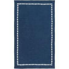 8 x 11 large navy blue and cream kids area rug abigail rc willey furniture