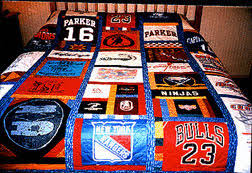 T-shirt Quilts - have your special t-shirts made into a beautiful ... & T-shirt Quilt - Custom Adamdwight.com
