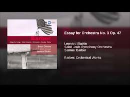 essay for orchestra details about stephen dodgson essays for orchestra