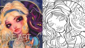 Small Picture How to Create a Coloring Page Photoshop CS6 Natasha WESCOAT