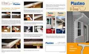 property pamphlet plastmo u snap vinyl rainware pamphlet kaycan pdf catalogues