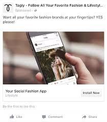 Fashion Designer Facebook App Facebook App Install Ad Examples Install Facebook App Ads