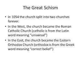 Venn Diagram Of Eastern Church And Western Church Great Schism Venn Diagram Wiring Diagram
