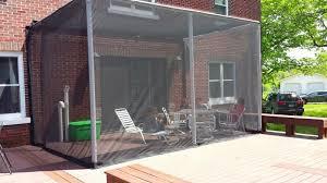 screened in deck. DIY Screened-in Deck. 2in PVC Frame Screened In Deck D