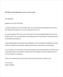 Cover Letter For Hr 8 Job Application Letters For Hr 8 Free Word Pdf Format