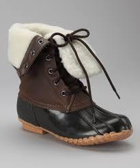 Sporto Brown Delinda Duck Boot