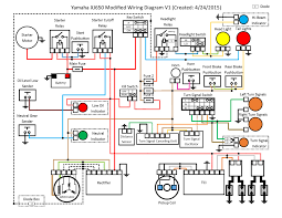 headlight relay wiring diagrams motorcycle headlight relay wiring diagram wiring diagram wiring headlight relays modified electrical wiring diagram xjbikes yamaha