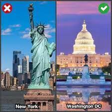 Histofun Deluxe - • 🇺🇸 นิวยอร์กไม่ใช่เมืองหลวงของสหรัฐอเมริกา!?  เชื่อเลยว่าน่าจะมีใครหลายคนเคยเข้าใจผิดคิดว่ามหานครนิวยอร์ก (New York) คือ เมืองหลวงของสหรัฐอเมริกา จริงอยู่ที่ศูนย์กลางสำคัญทางด้านเศรษฐกิจของ สหรัฐอเมริกาตั้งอยู่ที่นิวยอร์ก แต่ในความ ...