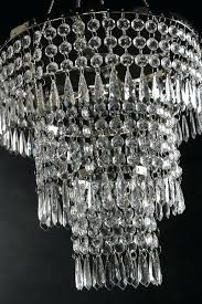 3 tier chandelier gallery odeon crystal glass fringe 3 tier chandelier
