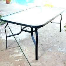 round glass table top home depot patio glass table top replacement round home depot tops round