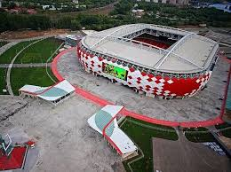 Kaliningrad Stadium Seating Chart Fifa World Cup 2018 Stadiums The Pitch Is All Set For