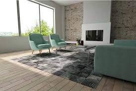 moorish tile rug dark gray leather area rug in a star design in a sunny living moorish tile rug