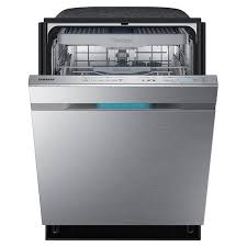 samsung dw80j9945us top control dishwasher with waterwall technology picture