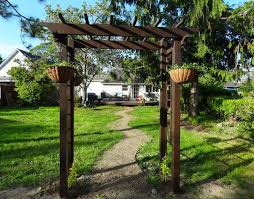 Small Picture Frame Your Garden With a DIY Arbor for 150