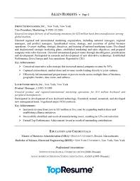 Executive Resume Samples Inspiration CEO Executive Resume Sample Professional Resume Examples TopResume