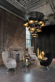 Industrial office lighting Led Beat Lighting Pendants By Tom Dixon Inside His New Industrial Office And Shop Ellatieninfo Lamps And Lighting Home Decor Beat Lighting Pendants By Tom Dixon