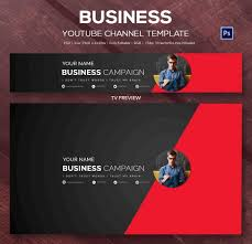 Youtube Template Psd 47 Youtube Banner Templates Psd Free Premium Templates