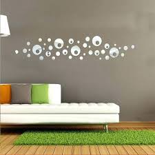 circle wall mirrors new hot mirror acrylic stickers decorative large modern design home decor living room in from kids w