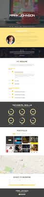 Web Designer Resume Top 100 CV Resume WordPress Themes Colorlib 84