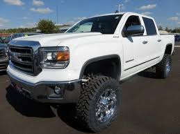 2014 gmc sierra lifted white. 2013 2014 gmc sierra 1500 slt 42995 100606807 custom lifted truck classifieds sales gmc white