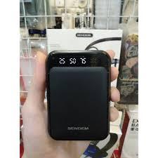 Pin sạc dự phòng 10.000mAh SENDEM P300, Sạc dự phòng mini giá rẻ giảm chỉ  còn 109,000 đ