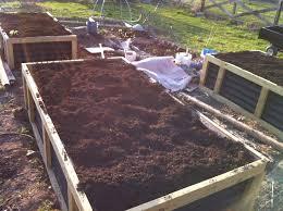 introduction no irrigation raised bed gardening system hugelkultur