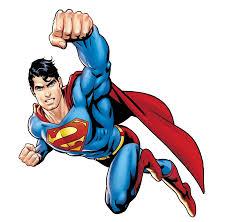 cartoon superman transpa image