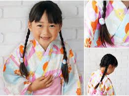 動画解説付き簡単浴衣子どもヘアアレンジ キュートも個性派も