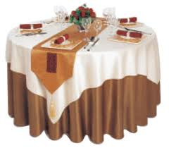 whole hotel banquet round table cover for wedding