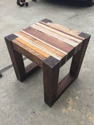 DIY Scrap wood side Table Plans - Free DIY Plans | rogueengineer.com  #ScrapWoodSideTable