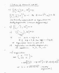 Quantum homework