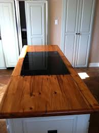 wood countertop ideas southern vintage reclaimed counters outdoor