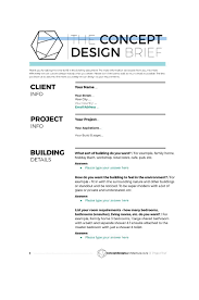Example Of Project Design 50 Useful Design Brief Templates Free Creative Brief