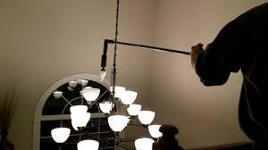 High Ceiling Light Bulb Changer Amazon Giraffe Motorized Light Bulb Changing System Youtube