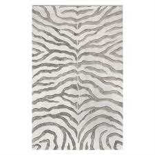nuloom earth plush zebra area rug