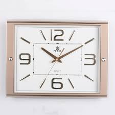 online buy wholesale rectangle wall clocks from china rectangle