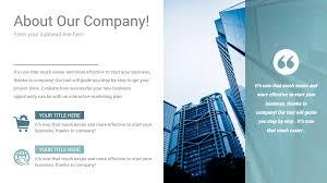 Company Presentation Template Ppt Stunning Company Profile Powerpoint Presentation Template