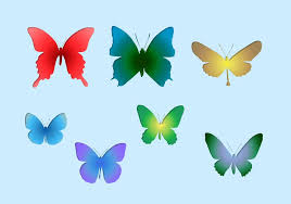 Butterfly Shapes Free Photoshop Brushes At Brusheezy