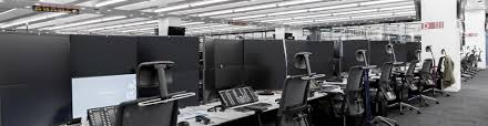 office cable management. Harrow Green Services Technology Relocation Cable Management Office