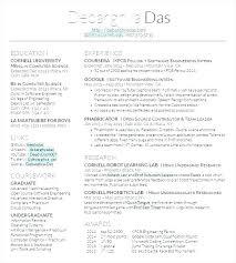 Latex Resume Templates Resume Template For Latex Latex Resume