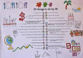 25 Before 26 Birthday List Review Laura Swanson