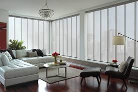 ... Splendid Three Window Curtain For Window Treatment Decoration Ideas :  Entrancing Living Room Decoration Using Sliding ...