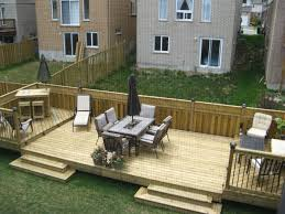 Small Picture Flat Decks And Small Back Yard Patio Designs with Deck Backyard