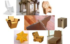 karton cardboard furniture. Some Inspirational Sources Included The Bravais Armchair, Cardboard Furniture Produced By Karton And Chairigami, Origami, Expanding Chair,
