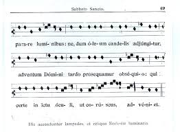 exultet sheet music new liturgical movement easter in the ambrosian rite part ii