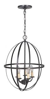 hardwired pendant series 5 lights brushed bronze mini chandelier with circular cage shade