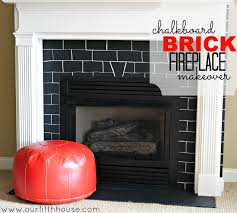 Cheap Fireplace Makeover Ideas Easy Brick Fireplace Makeovers Design Ideas For House Good