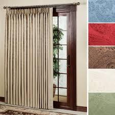 Sliding Door Curtain Rod Horizontal Blinds For Glass Doors Vertical ...